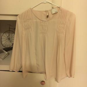 Greylin cream blouse
